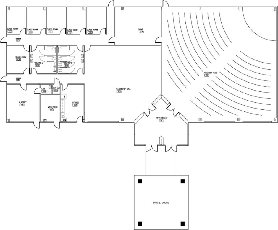 Grace Church Floor Plans