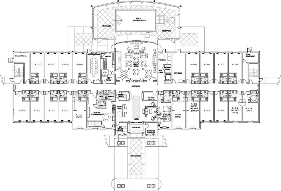 Holiday Inn Express Floor Plans