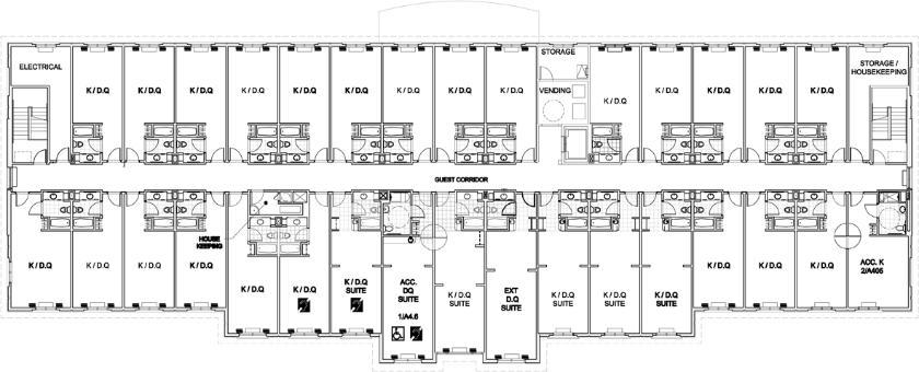 Holiday Inn Express Floor Plans