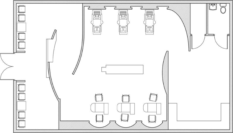 jade boutique spa 1st floor plan - Spa Floor Plan